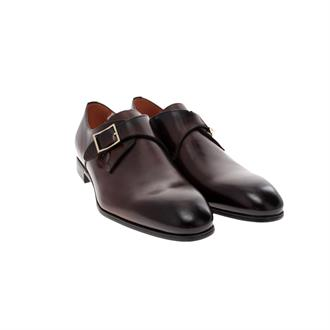 Santoni P-Europa Single Buckle Gesploafer